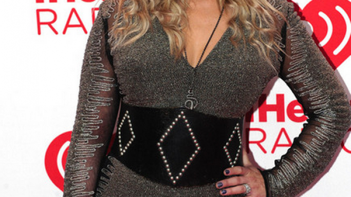 Miranda Lambert adorn the dress for the 2012 iHeartRadio Festival.