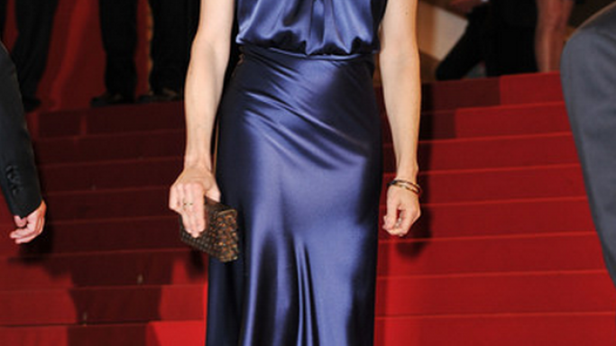 "Foster attended the ""Melancholia"" Cannes Premier on May donning this designer bangle."