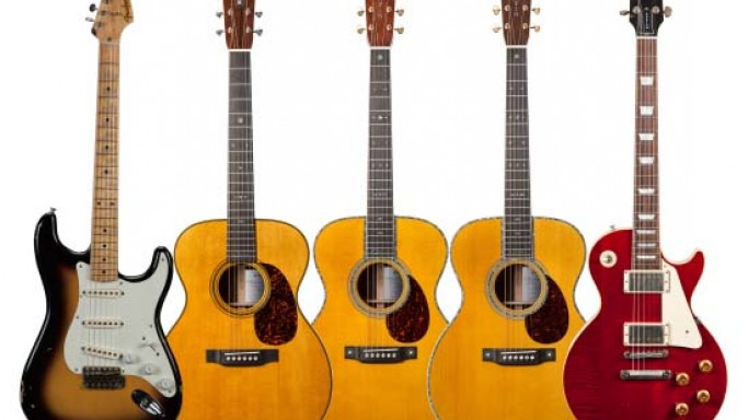 Eric Clapton Limited Edition Crossroads Guitar Collection Debuts