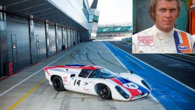 McQueen's 1969 Lola T70 MKIII B from classic movie Le Mans to fetch around $1M at Silverstone Auction