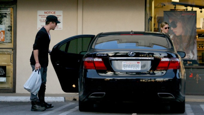 Ryan Phillippe's Lexus LS Hybird