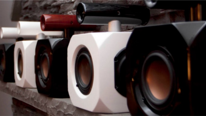 The Adsum Detonator bookshelf speaker for sonic boom