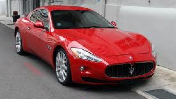 photo of French Montana Maserati GranTurismo - car