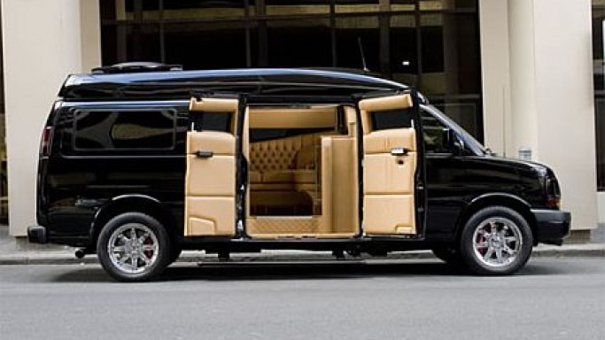 Ai Design Designs Ultra-Luxurious $250K Chevy Van