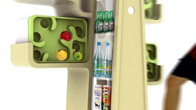 Tree House Fridge For the Eco-Lovers
