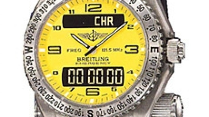 Breitling Emergency Chronograph with Distress Transmitter