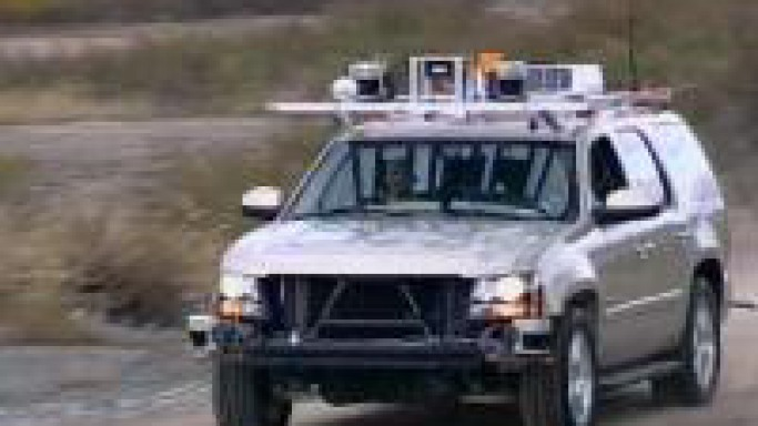 DARPA develops BOSS, the self-driving robotic vehicle
