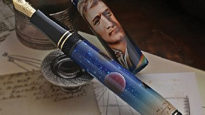 Limited edition Isaac Newton pen from Conway Stewart