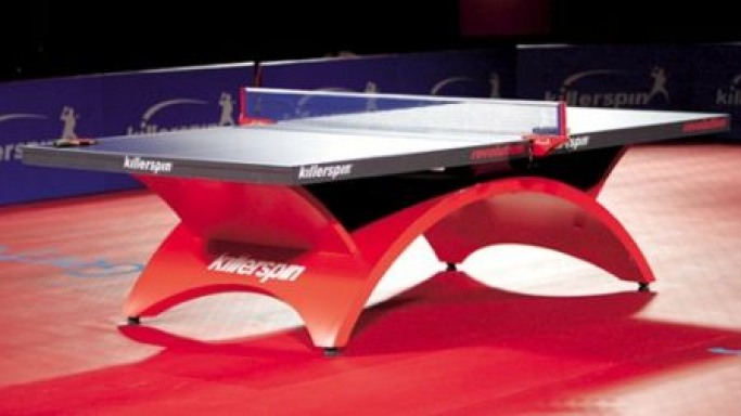 Killerspin's state-of-the-art Revolution Ping Pong table