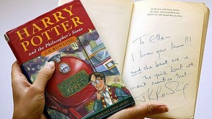 Harry Potter First Edition Sells for nearly $41,000