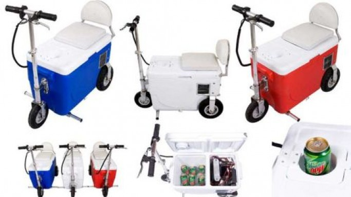 X-Treme Cooler Scooter –  Access your food and drinks on the move