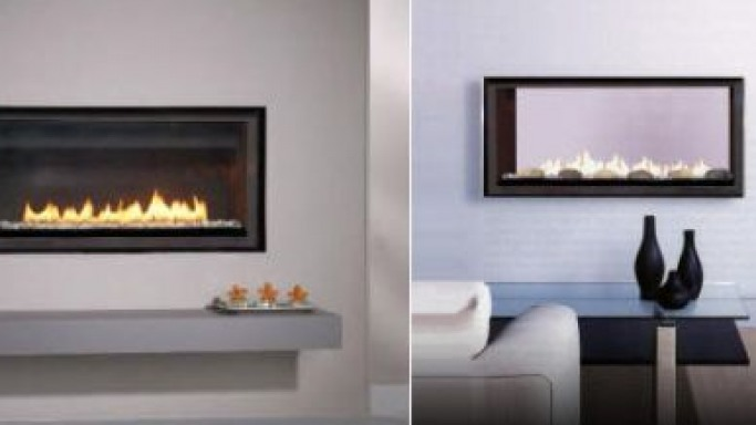 FlatFire LDF Series direct-vent gas fireplaces