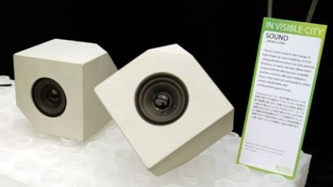 Concrete speakers – Small form factor, Big sound profile