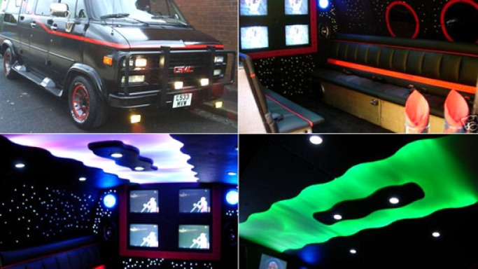 A stylishly cool way to go to your prom: A-Team limo service