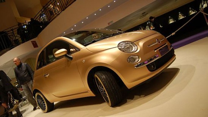 Fiat 500 Pepita – Italy's small car gets the gold treatment