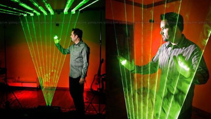 Build Your Own Laser Harp