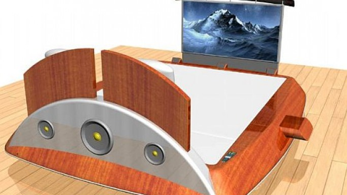 From Bed With Love: The James Bond's Bed?