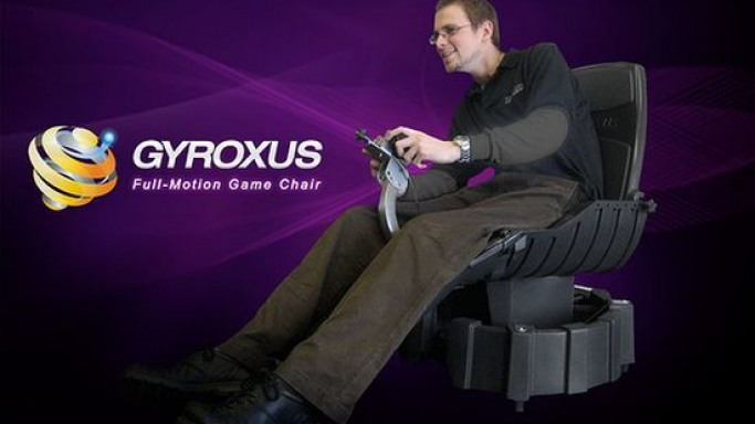 Gyroxus gaming chair double as full body racing simulator