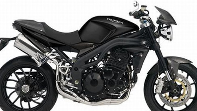 Limited edition Speed Triple Carbon sports bike