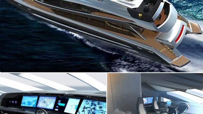Porsche Design all set to hit the waves with 135-foot catamaran megayacht