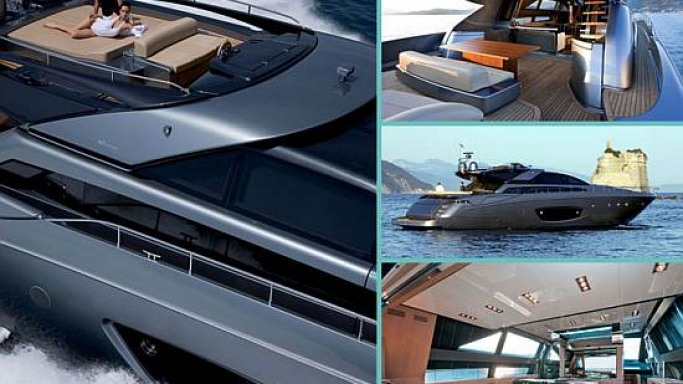 Riva debuts its sporty 86′ Domino open style yacht for socialites
