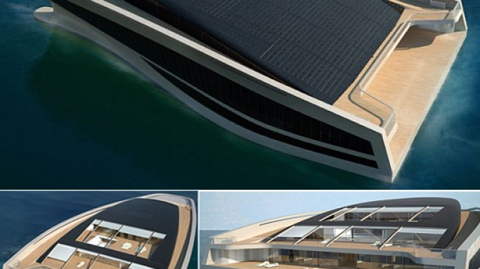 Hermes Defines Silhouette of Wally's latest Island Yacht