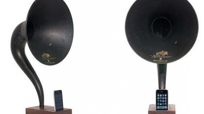 iVictrola iPod Amplifier: Get back into the groove with a new twist