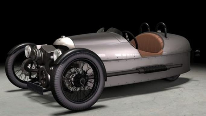 Morgan brings back its iconic Threewheeler for 2011