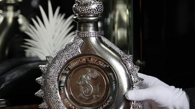 Hacienda La Capilla shows the $3.5 million tequila bottle