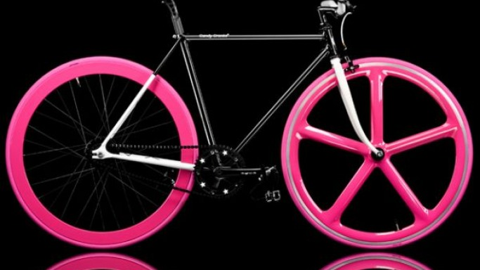 Primate Frames' new bicycle design for the Candy girls