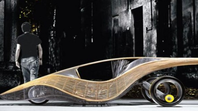 Kenneth Cobonpue designs world's first and only bamboo and rattan car