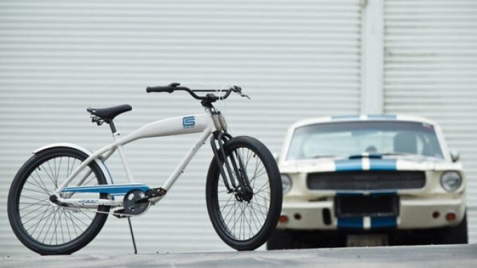 Shelby partners with Felt for limited edition cruiser bike