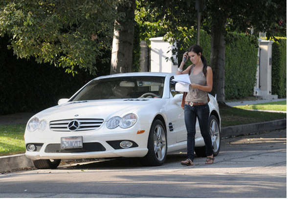 photo of Audrina Patridge  - car