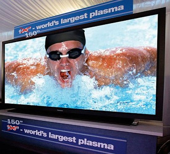 Panasonic's 150-inch plasma HDTV coming to CES 2008